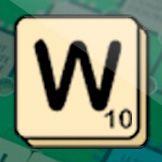 Image mots W Scrabble