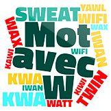 Découvrez tous les mots Scrabble avec W